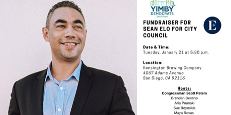 YIMBY Fundraiser for Sean Elo tickets