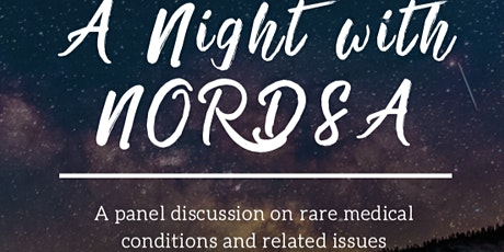 A Night with NORDSA: Panel Talks on Rare Medical Conditions tickets