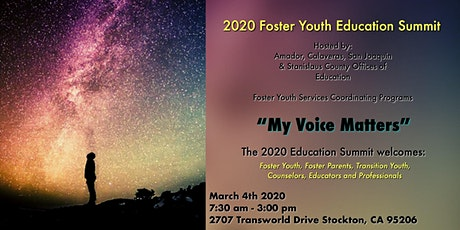 3rd Annual Foster Youth Education Summit tickets