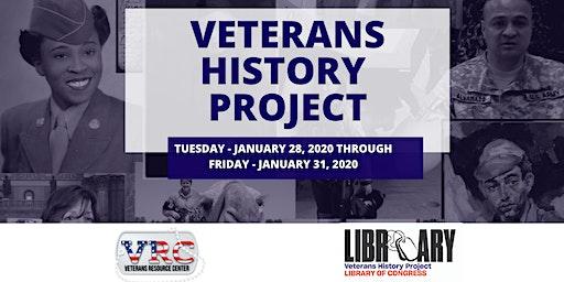 Veterans History Project Workshop