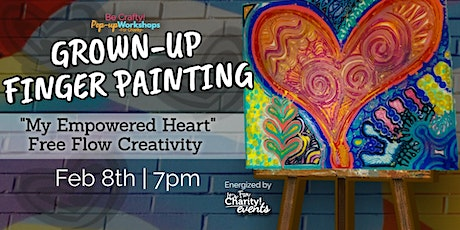Be Crafty! Pop-up: Grown-up Finger Painting Workshop at TURBO Kitchen tickets