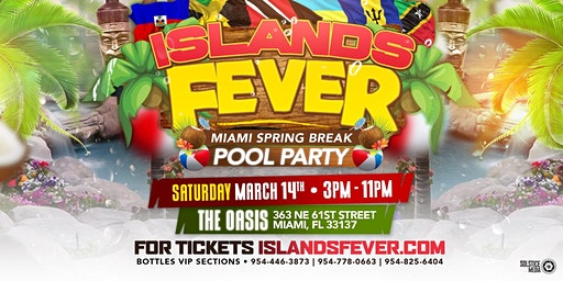 ISLANDSFEVER POOL PARTY MARCH 14