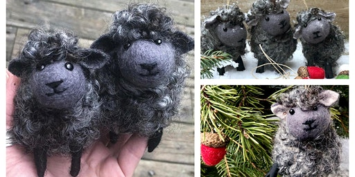 Felted Grey Sheep Workshop, February 1, 2020