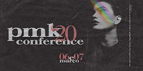 Conferência PMK 2020 ingressos
