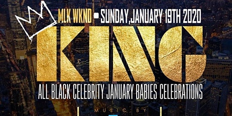 KING!!! ALL BLACK MLK WEEKEND EVENT!!! AT CAVALI NYC!!! tickets