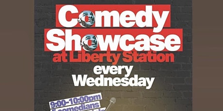 Comedy Showcase at Liberty Station - Comedy Hub TICKET GIVEAWAY tickets