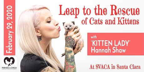 Saving Kittens and Community Cats: Two Workshops with 'Kitten Lady' Hannah tickets