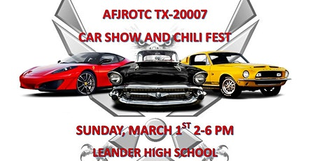 Air Force JROTC 9th Annual Chili Fest and Inaugural Car Show tickets