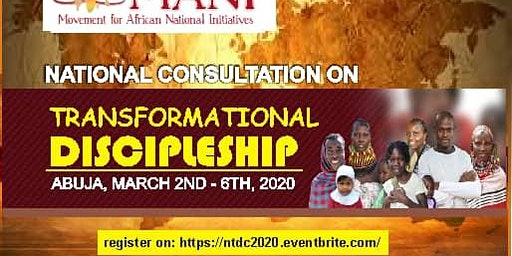 National Transformational Discipleship Consultation