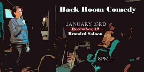 Back Room Comedy tickets