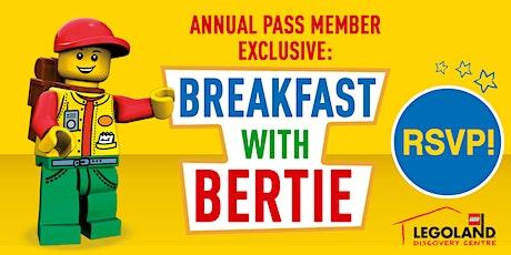 Breakfast with Bertie tickets