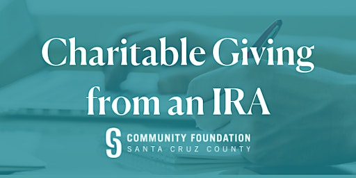Use Your Required IRA Withdrawal for Charity (and Skip the Taxes!) - April 22, 2020