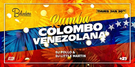 Rumba Colombo Venezolana tickets
