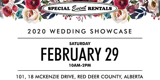 2020 Wedding Showcase at Special Event Rentals