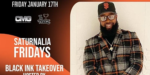 Saturnalia Fridays w/ VH1 TV Show Black Ink Star Teddy