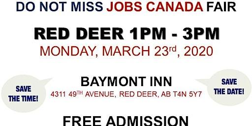 Red Deer Job Fair – March 23rd, 2020
