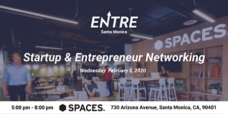 Startup & Entrepreneur Networking - Santa Monica tickets