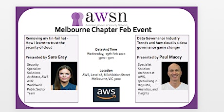 AWSN Melbourne Feb 2020 Event tickets