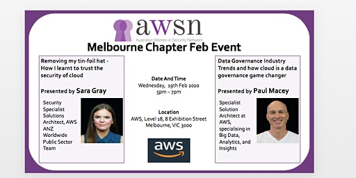 AWSN Melbourne Feb 2020 Event