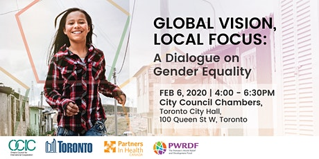 Global Vision, Local Focus: A Dialogue on Gender Equality tickets