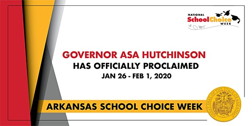 Arkansas National School Choice Week Rally