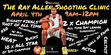 The Ray Allen Shooting Clinic - Sydney tickets