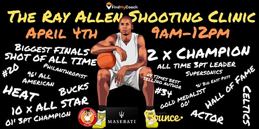The Ray Allen Shooting Clinic - Sydney