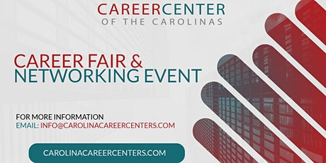 Free Career Fair and Networking Event-Concord, NC tickets