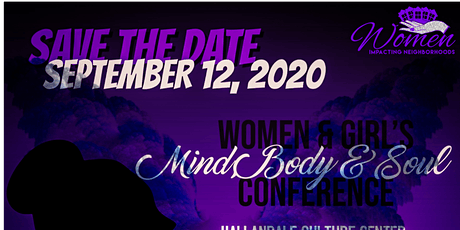 Women & Girl's Mind, Body & Soul Conference-VENDOR SPACE tickets