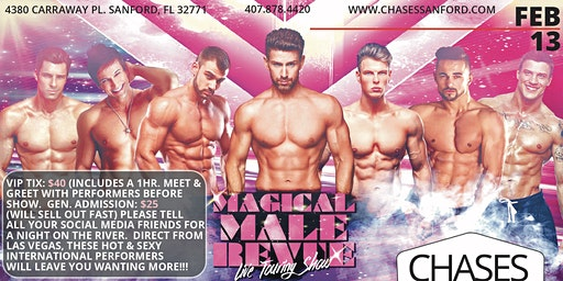 Magic Mike Male Revue at Chases on the River