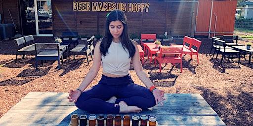 (Saturday- Feb 1) Beer Yoga at Brewsome Brewery!