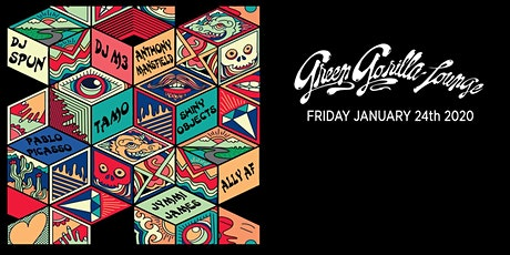 Green Gorilla Lounge ft. DJ  Spun, DJ M3, Anthony Mansfield, Tamo + more tickets