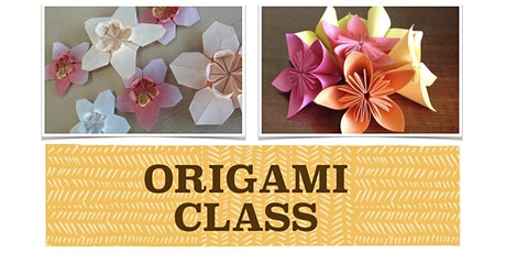 ADULTS ORIGAMI CLASS with Suzuko Wood tickets