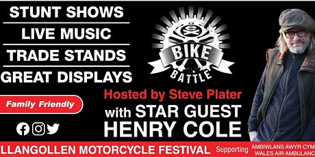 Llangollen Motorcycle Festival 2020 tickets