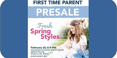 Kid's Closet - Ahwatukee/Chandler - 6pm Pre-sale - Feb 25 tickets