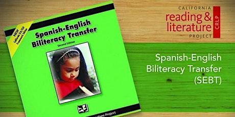 CRLP Spanish-English Biliteracy Transfer 3 day Summer Institute tickets