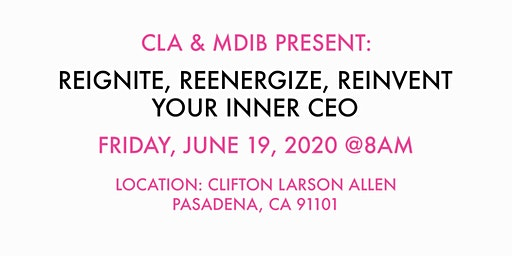CLA & MDIB Present: West Coast Workshop