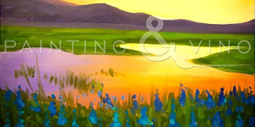Amazing Paint and Sip 'Summer Reflections'