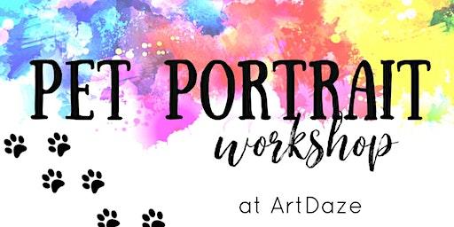 Pet Portrait Canvas Workshop