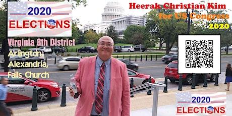 Heerak Christian Kim for US Congress Town Hall in Falls Church, Virginia tickets