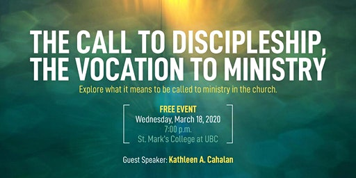 The Call to Discipleship, the Vocation to Ministry