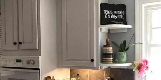 Cabinet painting 101 with fusion mineral paint