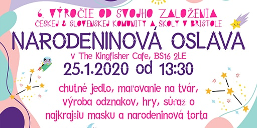 Oslava 6. narozenin CS Community Bristol/ 6th Anniversary Celebration