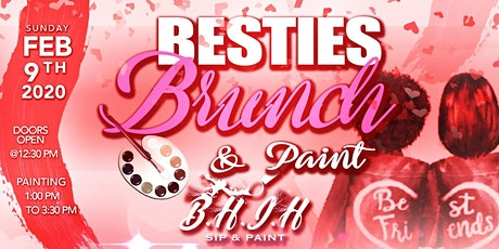 bestie brunch & paint tickets