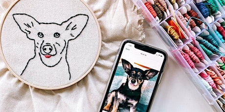 Embroidered Pet Portraits tickets
