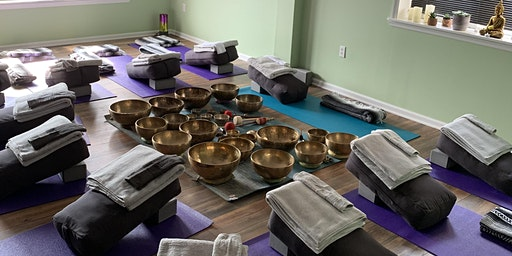 Tune In - Restorative Yoga & Himalayan Singing Bowls
