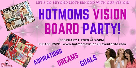 HOTMOMs Vision Board Party tickets