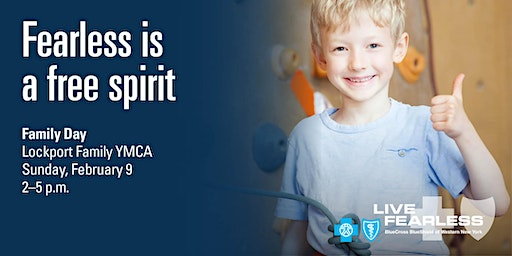 BlueCross BlueShield Fearless February - Lockport Family YMCA