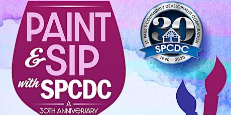 Paint and Sip w/SPCDC (BYOB) tickets