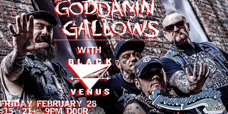 The Goddamn Gallows w/ Black Venus tickets